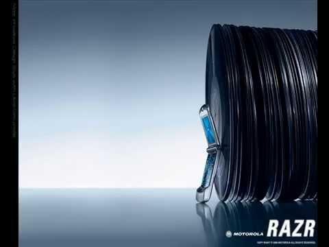 Motorola Razr V3 ad (commercial) music theme remix (Dabrye - Hyped-up Plus Tax)