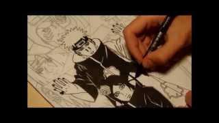Drawing: Akatsuki (Sasori,Deidara,Itachi,Kisame,Tobi,Zetsu,Hidan,Kakuzo,Konan and Pain)