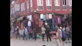 Eén rondgang rond de Bodhna Stupa te Kathmandu