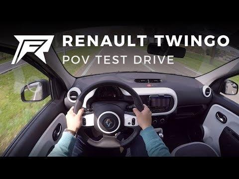2018 Renault Twingo SCe 70 - POV Test Drive (no Talking, Pure Driving)