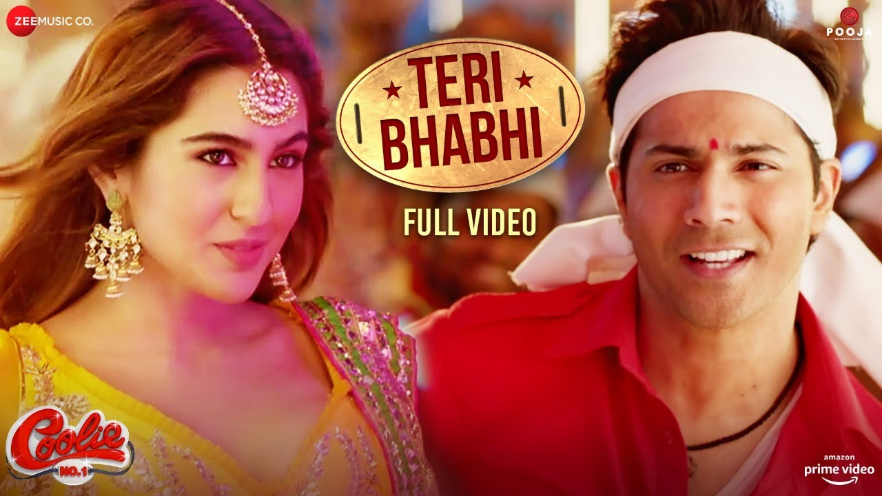 Teri Bhabhi - Full Video | Coolie No.1| Varun Dhawan, Sara Ali Khan | Javed-Mohsin Ft. Dev N& Neha K