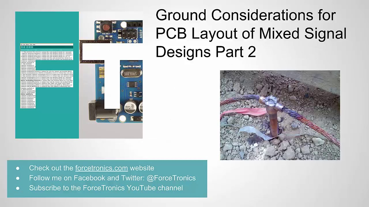Ground Considerations for PCB Layout of Mixed Signal Designs Part 2 ...