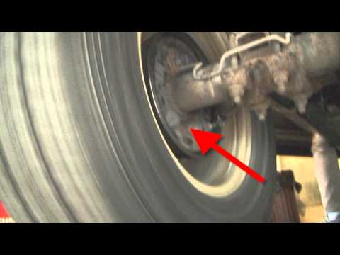 2002 Dodge Dakota - Odd drum brake issue Travel Video