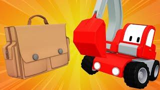 Tiny Trucks - Memories for Charlie - Cartoons with Street Vehicles Bulldozer, Excavator & Crane