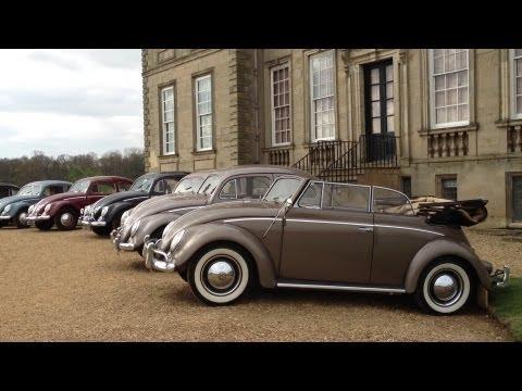 Vintage Volkswagen Beetles at Stanford Hall VW Show 2013 1080p HD
