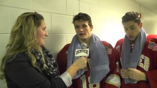 Second Intermission Interview at Air Force - Emil Romig and Trevor Moore
