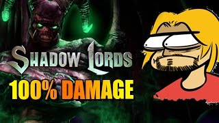 100% DAMAGE? Thanks Gargos - Shadow Lords  Pt. 4 (Killer Instinct 2016)