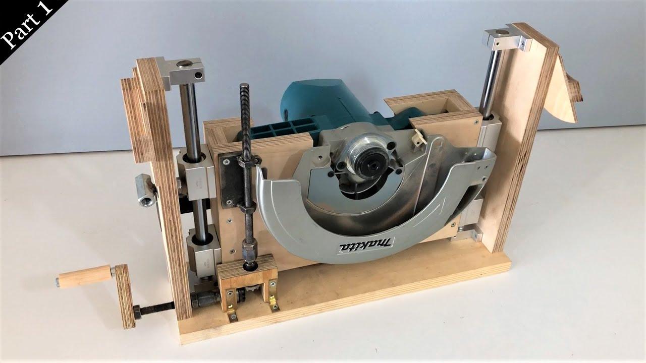 Download New!! Table Saw Build Part1: The Blade Lift Mechanism // Tezgah Testere Yapımı 1. Bölüm