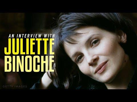 An Interview with Juliette Binoche