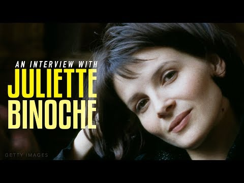 An  with Juliette Binoche