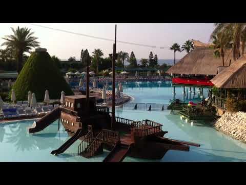 Отель SplashWorld Pegasos World 5*, фрагмент территории отеля, Сиде, Турция