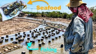 The SEARCH for FISH and FOOD (Can Gio, Vietnam) |  ĐI TÌM CHỖ CÂU CÁ VÀ THỬ ĐỒ ĂN Ở CẦN GIỜ
