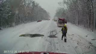 Tow truck cam shows multiple crashes on U.S. 31