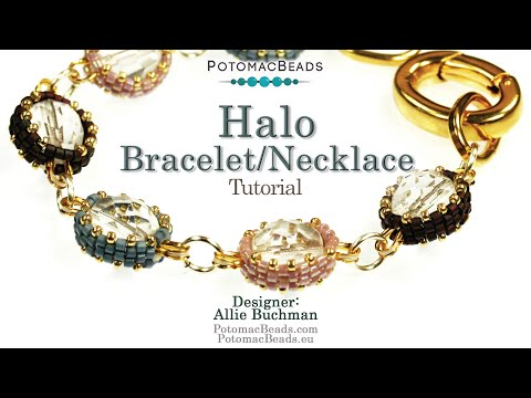 Halo - Necklace or Bracelet Tutorial