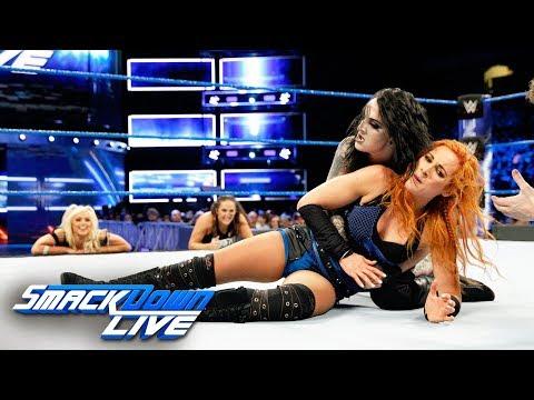 Becky Lynch vs. Ruby Riott: SmackDown LIVE, Jan. 9, 2018