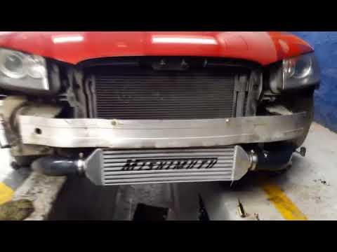 Instalacion de intercooler frontal Mishimoto en Audi A3 8P 2.0T fsi