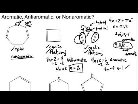 Aromatic, Antiaromatic, or Nonaromatic Practice Session #1