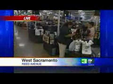 Huge Wal-Mart Opens In West Sacramento