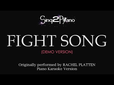 Fight Song (Piano karaoke demo) Rachel Platten