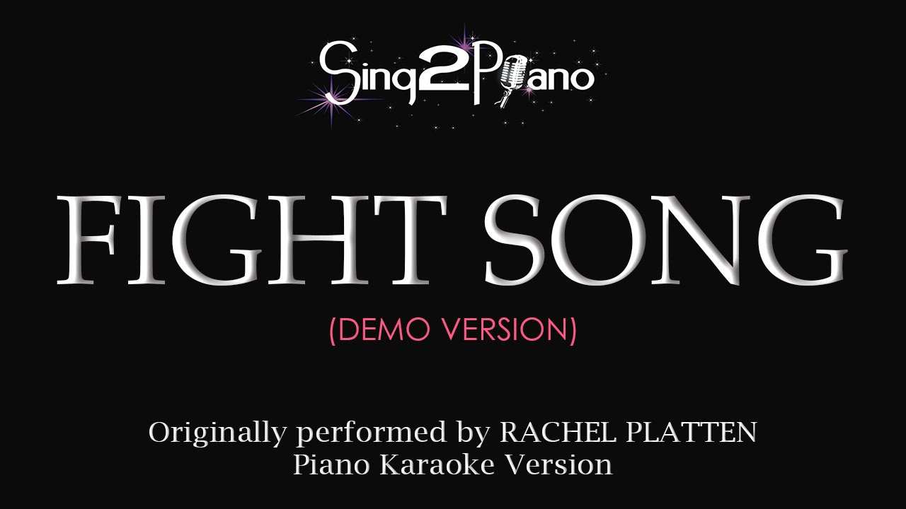 download lagu fight song karaoke