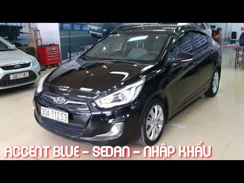 (Đã bán) Hyundai Accent Blue 1.4 A/T 2013 nhập khẩu bản sedan | Mr Thắng 0988.63.8585