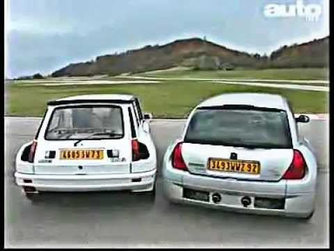 renault sport clio v6 renault 5 turbo 2 autolive youtube. Black Bedroom Furniture Sets. Home Design Ideas
