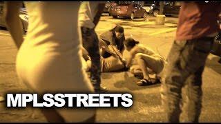 Brutal Girl Street Fight Downtown Minneapolis In Parking Lot After NightClub #MplsStreetsDVD