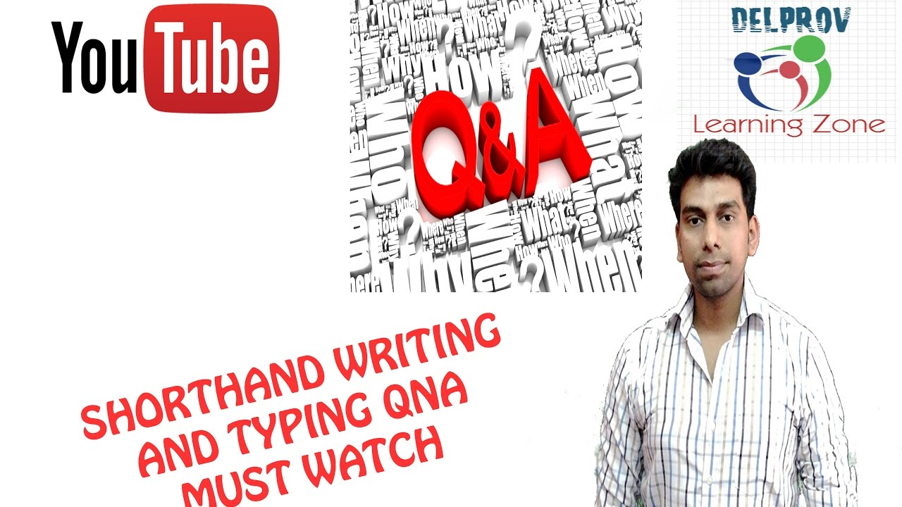 Qna shorthand writing and typing by sagar youtube qna shorthand writing and typing by sagar fandeluxe Gallery