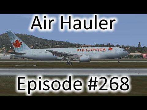 FSX   Air Hauler Ep. #268 - Istanbul to Helsinki   767-300