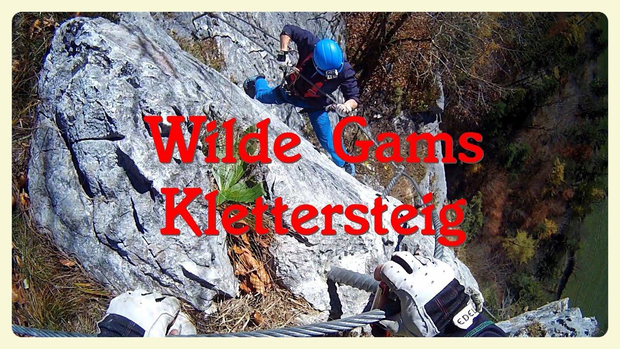 Klettersteig Zahme Gams : Klettersteige im salzburgerland magazin