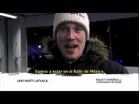 Carro # 7 Jari -- Matti Latvala (Piloto) Miikka Anttila (Co-piloto)