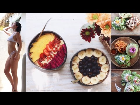 WHAT I EAT IN A DAY #90 AT BALI | Delicious Vegan Cafes