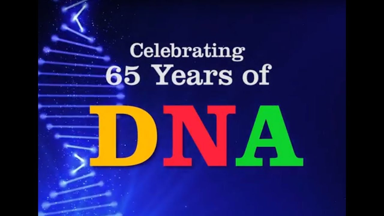 Celebrating 65 years of dna discoveries youtube celebrating 65 years of dna discoveries malvernweather Image collections