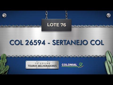 LOTE 76   COL 26594