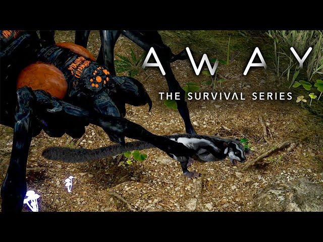 AWAY: The Survival Series 🐿️ Riesen Vogelspinne #03 [Lets Play   Gameplay Deutsch]