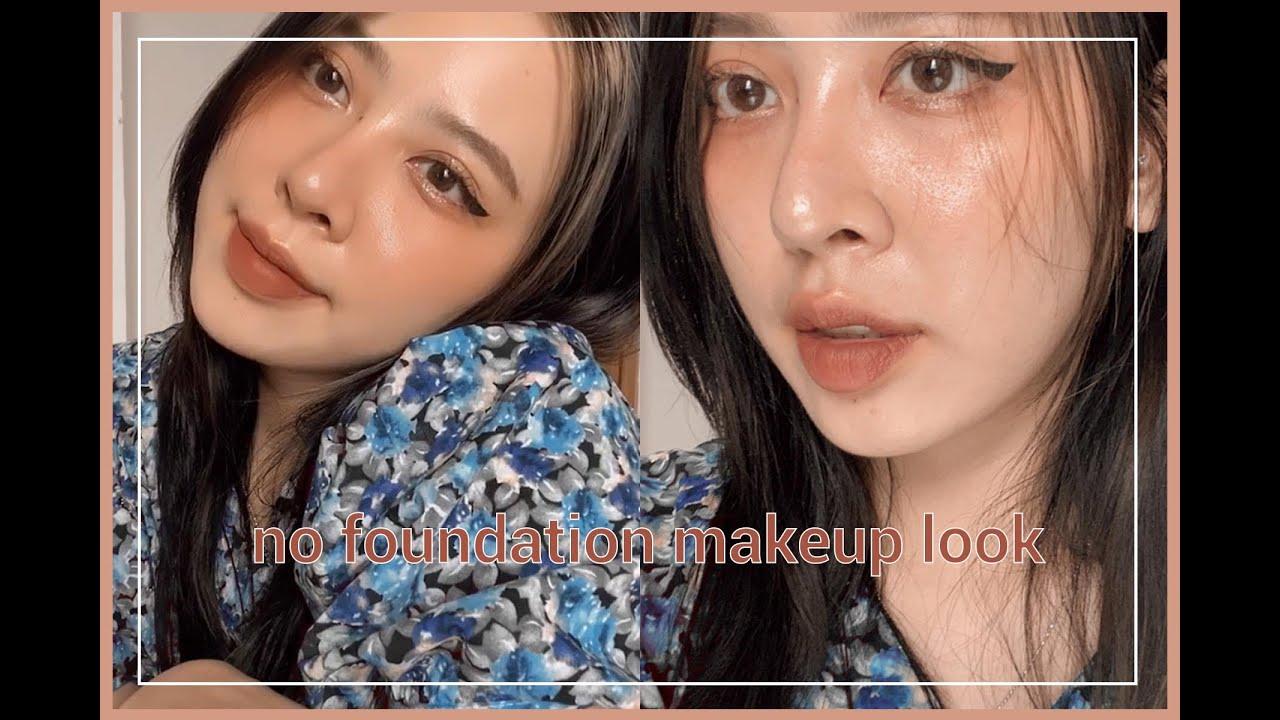 trang điểm KHÔNG KEM NỀN – no foundation makeup look – maihuongmakeup