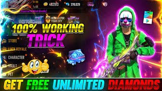 100% WORKING TRICK TΟ GET FREE UNLIMITED DIAMONDS😱🤯|| THINGS YOU DON'T KNOW ABOUT FREE FIRE🔥 #5