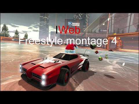 Rocket League Freestyle Montage 4 IWeb