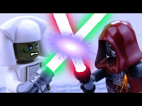 Battle at Alderaan square: Lego Star Wars Stop Motion