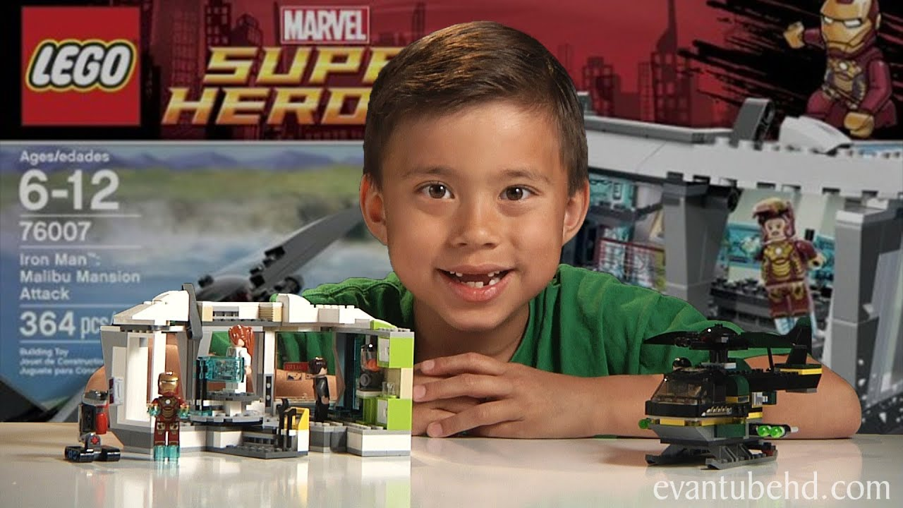 Iron Man 3 Malibu Mansion Attack Lego Super Heroes Set