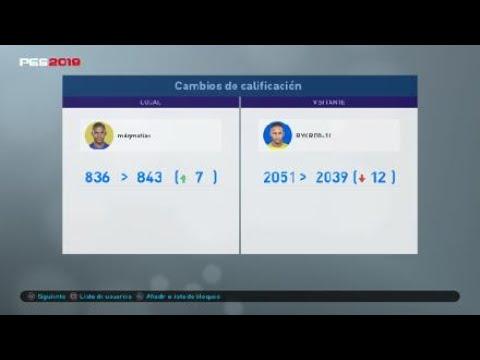 Victoria vs Ricardo Gamer (RYKRD0-11) 2051 puntos N1 Divisiones Online #PES2019