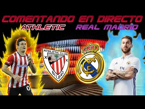 REACCIONES en VIVO | ATHLETIC BILBAO vs REAL MADRID | La Liga Santander by SergioLiveHD