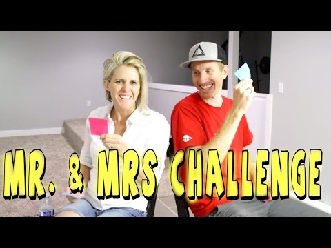 Live Mr. & Mrs Challenge - You ask the questions!!