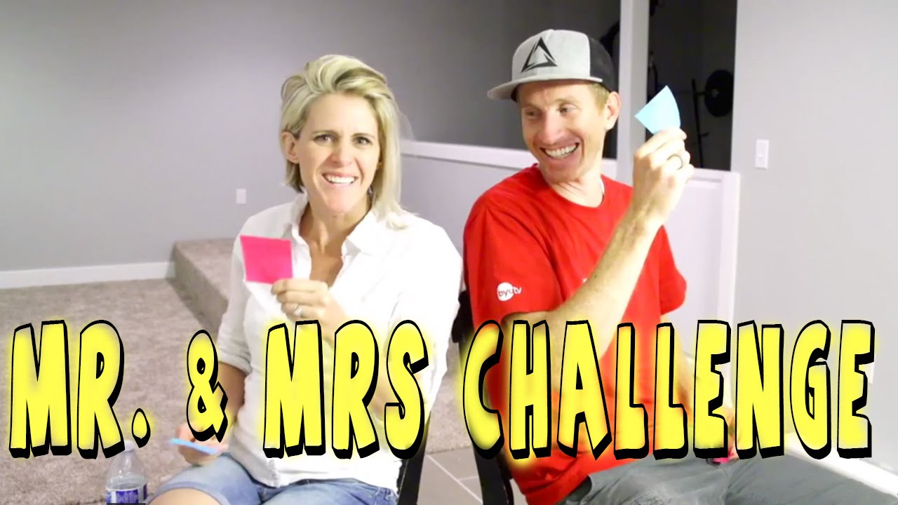 Live Mr. & Mrs Challenge
