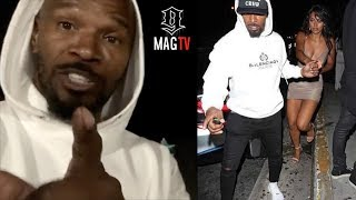 Jamie Foxx Explains His Relationship With 19 Year Old Sela Vave! 🤔