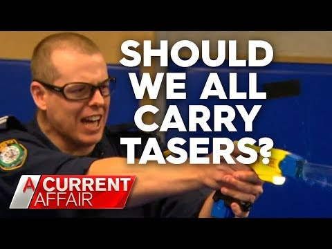 Push To Legalise Tasers For Self-defence In Australia | A Current Affair