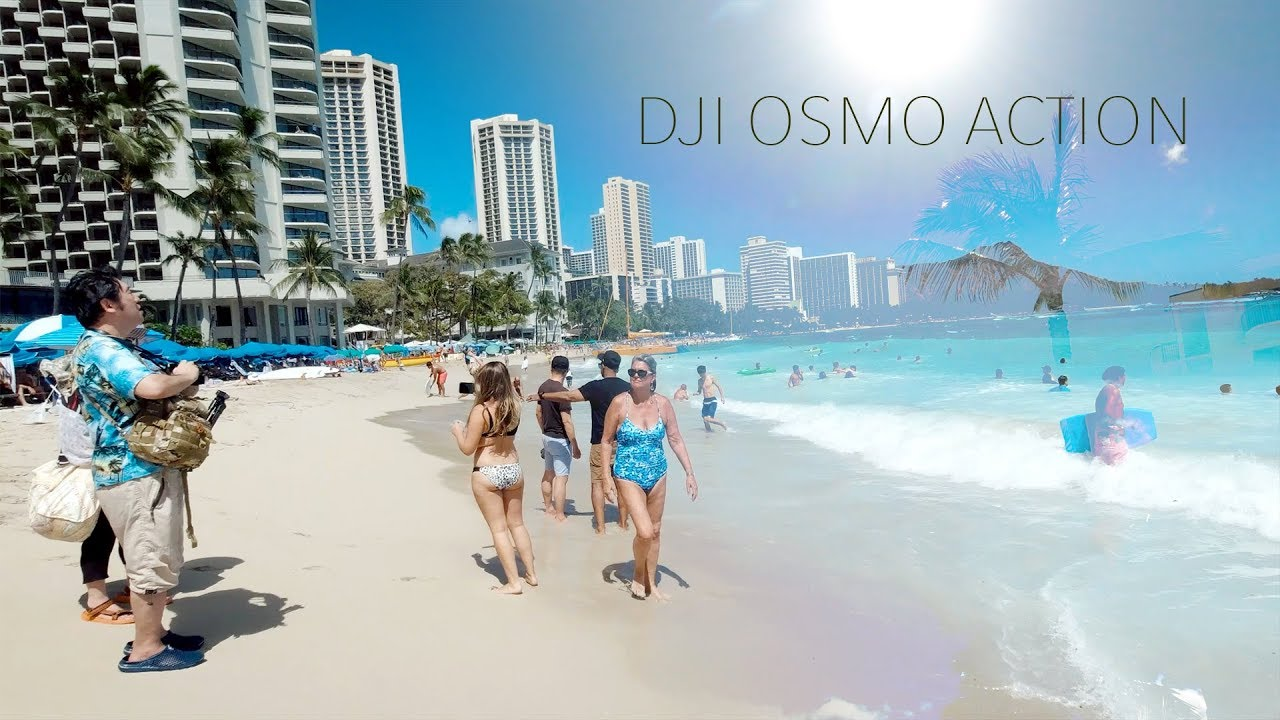 DJI Osmo Action - HAWAII TEST FOOTAGE Part 2 (2019) 2.7K
