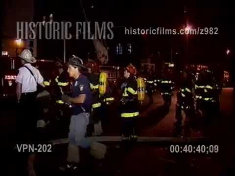 2 ALARM FACTORY FIRE, 199 LAFAYETTE STREET, MANHATTAN, SOHO - 1990