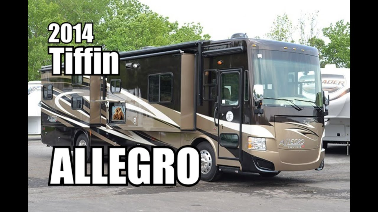 2014 Tiffin Allegro Red 38qba