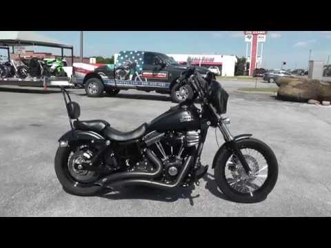317446 – 2013 Harley Davidson Dyna Street Bob FXDB – Used Motorcycle For Sale